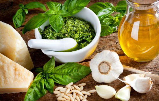 Necessity is the Mother of Pesto
